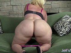 Perfect Butt, phat, Blonde, Chubby Wife, Vibrator Orgasm, Fat Milf, Fashion Model, cumming, Perfect Ass, Perfect Booty