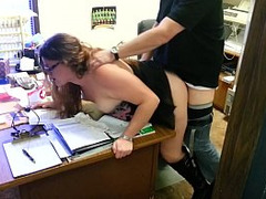 Beauty Fucked Doggystyle, officesex, Store, Perfect Body