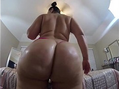 Booty Ass, butt, Butt Fuck, Wife Fucking Dildo, huge Toys, Dildo in Arse, Perfect Ass, Perfect Body