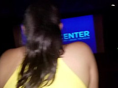Milf Tits, gf, Latina Wife, Latino, public Sex, Flasher Fucking, Theater, Huge Natural Tits, Perfect Body Anal Fuck
