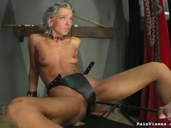 Dungeon, girls Fucking, Perfect Body Milf, Submissive Wife