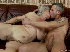 Huge Bushes Fuck, Granny Cougar, grandmother, bush, Hairy Teen Pussy Fuck, clit
