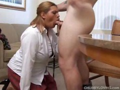 Blonde, Office Boss, Chubby, on Her Knees Blowjob, Perfect Body Teen, Secretary Boss, sloppy Heads