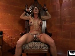 BDSM, Lesbian, Lezdom Submissive, Perfect Body Masturbation