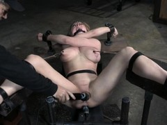 BDSM, Cunt Creampie, fucked, Machine Fucked, Perfect Body Amateur Sex