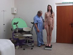 Gyno Doctor, sexy Legs, Perfect Body, clit, spread Pussy