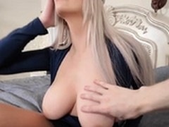 Blindfold Fuck, Big Cock Tight Pussy