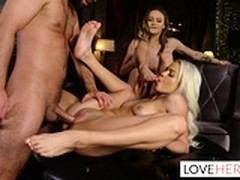 3some, Dating, foot Fetish, Perfect Body Masturbation, Surprise Threesome