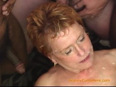 gang Bang, Gilf Blowjob, gilf, Granny In Gangbang, Horny, Perfect Booty