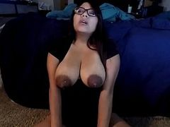 Naked Cougar, Milf, Milking Tits, Sucking Milk, stepmom, Squirt, Huge Boobs, Hot MILF, Mature Perfect Body