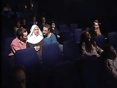 Woman Fucked in Cinema Theatre, Perfect Blowjob, Watching My Wife, Couple Watching Porn, Perfect Body Masturbation
