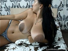 Cum on Her Tits, Foreplay Orgasm, Latina, Latino, erotic, Pussy Teasing Cock, Huge Boobs, Mature Perfect Body, Sologirls Masturbating